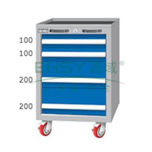 重量型工具柜,高H*宽W*深D:850*566*640,抽屉荷重(kg):100kg,EA7041M