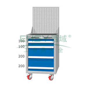 重量型工具柜,高H*宽W*深D:1380*566*640,抽屉荷重(kg):100kg,EA7041MA