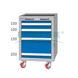 重量型工具柜,高H*宽W*深D:850*566*640,抽屉荷重(kg):100kg,EA7042M