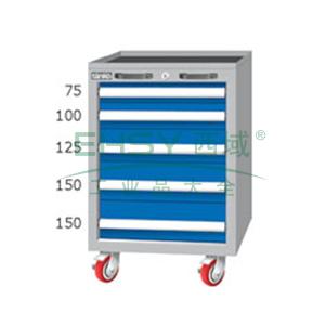 重量型工具柜,高H*宽W*深D:850*566*640,抽屉荷重(kg):100kg,EA7052M