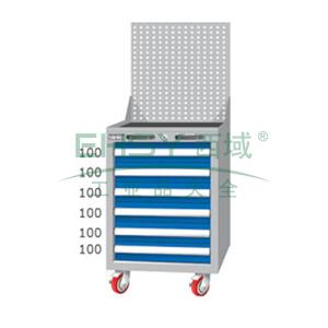 重量型工具柜,高H*宽W*深D:1380*566*640,抽屉荷重(kg):100kg,EA7061MA