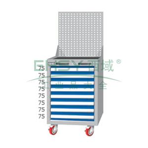 重量型工具柜,高H*宽W*深D:1380*566*640,抽屉荷重(kg):100kg,EA7081MA