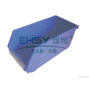 (全新料)背挂式零件盒, 105×140×75mm (蓝)