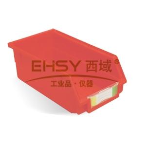 (全新料)背挂式零件盒, 105×190×75mm (红)