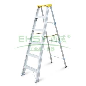 金锚 铝合金高强度工作梯,踏板数:5,额定载荷(KG):150,工作高度(米):1.61,AO21-105