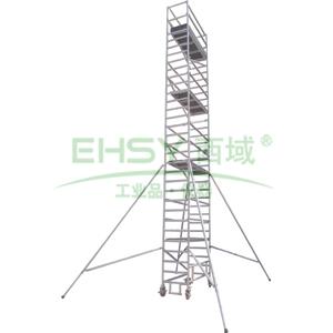 金锚 铝合金脚手架,额定载荷(KG/平米):200,总承重(KG):500,工作高度(米):3.8,AOB12-4