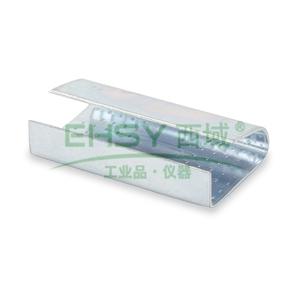 PET塑料打包带铁扣, 16MM塑钢扣 2000个/箱