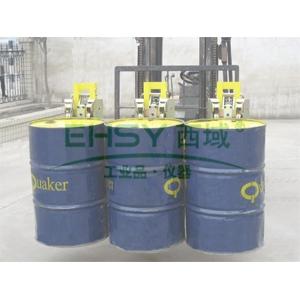 汉利 三桶重型桶夹,额定载荷(kg):2700,长*宽*高(mm):855*1640*990