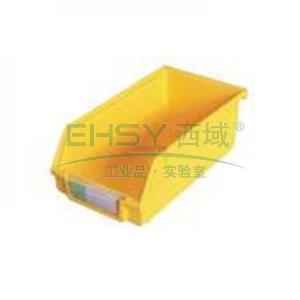 (全新料)背挂式零件盒, 140×270×125mm (黄)