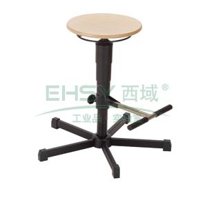 工位椅,MEY工位椅, 榉木 带脚踏 高度可调535-795mm(散件不含安装)