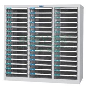 文件柜,透明 880×812×346,45抽屉