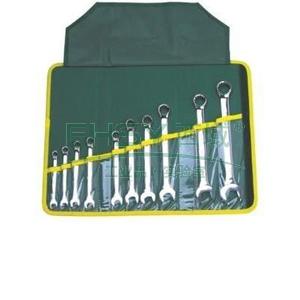 两用扳手组套,10件套(8~22mm),DL0110
