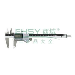 """三丰 防水数显卡尺,防护等级IP67, 0-6""""/0-150mm 带数据输出功能,500-762-10"""