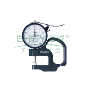 三丰 厚度表, A型 0-10mm,7301