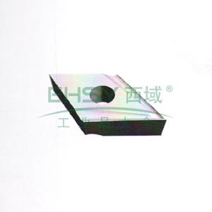 自贡长城 机夹刀片,YG3 21305C,用于数控、仿形车及螺纹车刀
