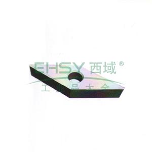 自贡长城 机夹刀片,YG3 21008V,用于数控、仿形机床车刀