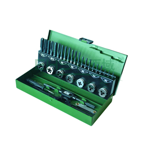 世达 丝锥板牙套装,32件套,高速钢粗牙 50452