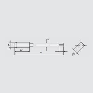 伯爵 螺尖丝锥,M2(M2*0.4)