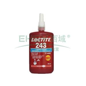乐泰螺纹锁固剂,Loctite 243中强度型,250ML