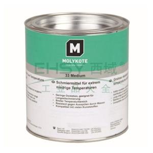 摩力克极低温硅脂,MOLYKOTE 33 M,1KG