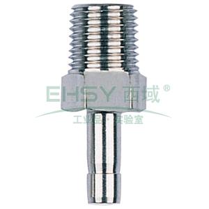 "JPE D1-3/4""PT带尾管外螺纹接头,BS6-TAM0806-R"