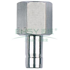 """JPE D1/4""""-1/8""""PT带尾管内螺纹接头,BS6-TAF0201-R"""