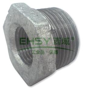 逸林/YILIN TB-1004R-FE 镀锌补芯,DN25×15 Rc1×1/2〃