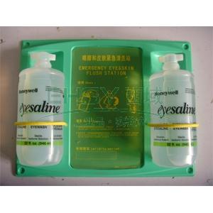 Honeywell 32oz 眼睛和皮肤清洗液,双瓶装,带背板,109115-G
