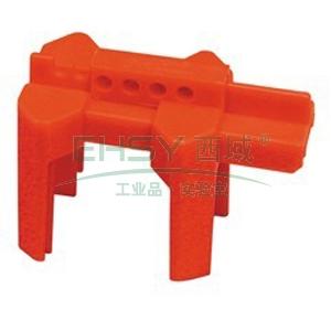 BRADY PRINZING球阀锁,小型, 红色,BS07A