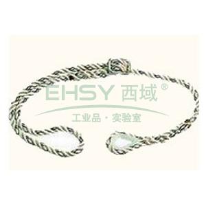 代尔塔 EX021三股可调节定位安全绳(12mm),502021