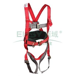 羿科 PN32全身式三挂点带护腰安全带,60816705