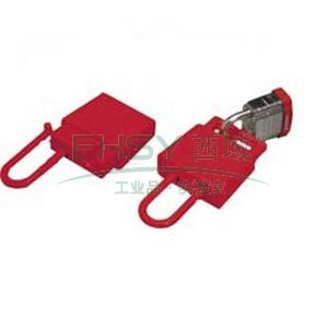 BRADY PRINZING绝缘性锁具锁钩,红色,LH220A