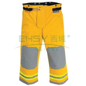 雷克兰OSX1000黄色消防战斗服裤子,S