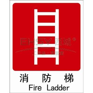 自发光不干胶消防梯,250*315mm