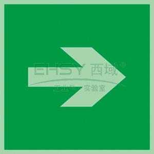 自发光不干胶标识方向箭头,直,150*150mm