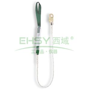霍尼韦尔 12mm缓冲系绳,配有1个抓钩和1个连接环,2米,DL-50