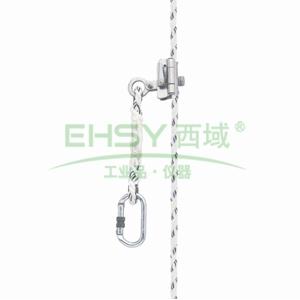 霍尼韦尔 自动/手动抓绳器(配0.3米系绳),适合14/16mm安全绳,1002876