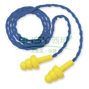 3M 340-4004 Ultrafit圣诞树型带线耳塞,100副/盒