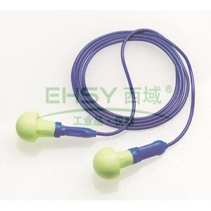 3M 318-1005 Push INS免搓揉泡棉带线耳塞,500副/盒