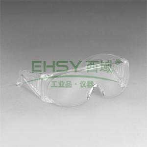 3M 1611HC 访客用防护眼镜,防刮擦涂层