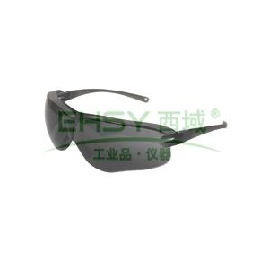 3M 10435 中国款流线型防护眼镜,灰色镜片,防雾