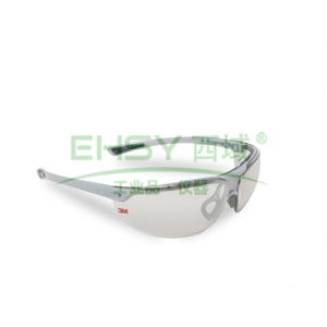 3M 1791T 时尚型防护眼镜,UV防护,银色眼镜片