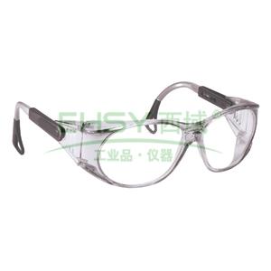 3M 12235 防护眼镜,带侧翼通风口,防雾