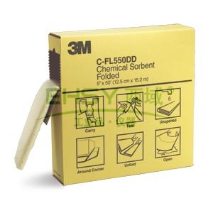 3M折叠式化学吸液棉,C-FL550DD