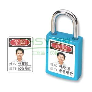 Master Lock 6835适用照片标识贴纸,英文标识,6张装,6835-5700