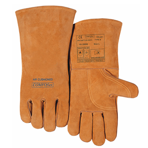 威特仕 焊接手套,10-2000L,焊烧手套 雄鹿色斜拇指款