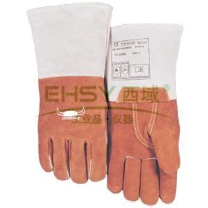 威特仕 10-2900L 耐高温手套, 咖啡色耐高温手套