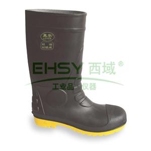 莱尔 耐酸碱耐腐蚀耐磨劳保靴,防砸防刺穿防静电,40,SL-2-91
