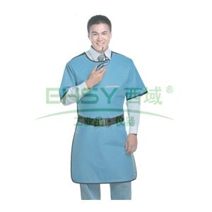 铅胶衣,反穿半袖单面式,0.35mmPb,1000x600mm