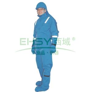 圣欧防电弧连体服,6.5cal,宝蓝色,尺码:XL